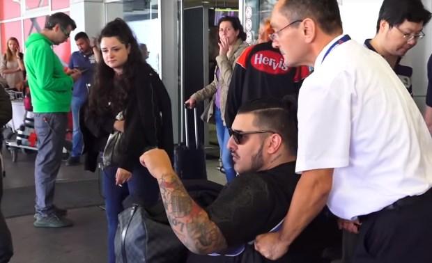 На Лазиќ одненадеж му се слошило, повторно заврши во инвалидска количка