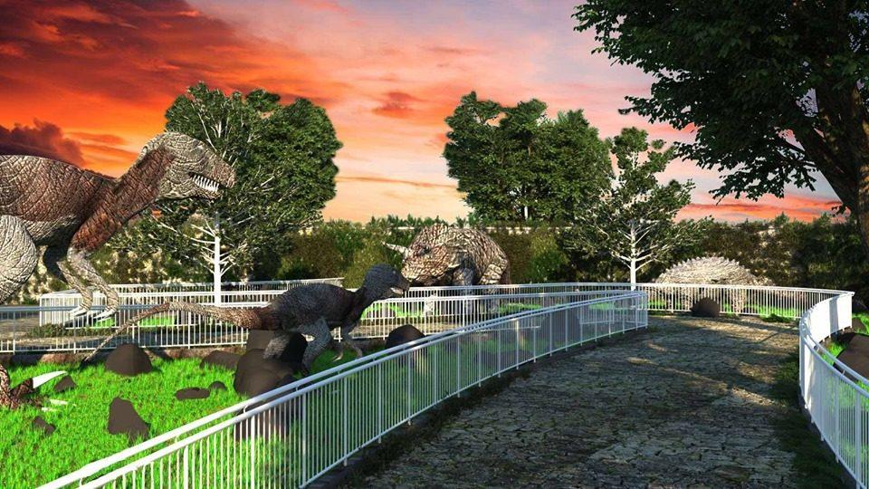 Во Скопје почна да се гради првиот Дино парк на Балканот