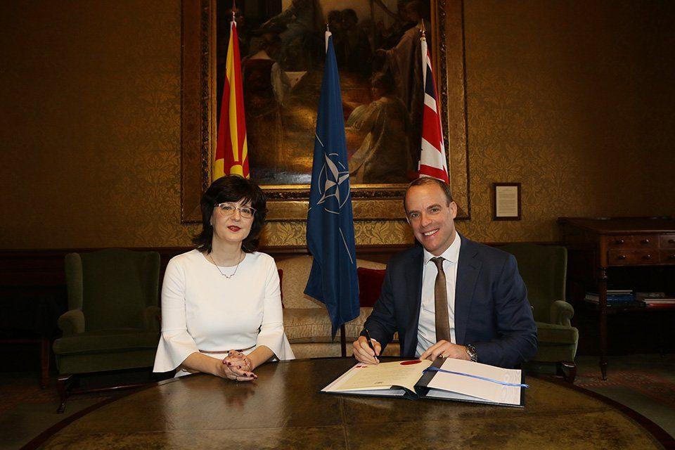 И Велика Британија го ратификува Протоколот за пристапување во НАТО