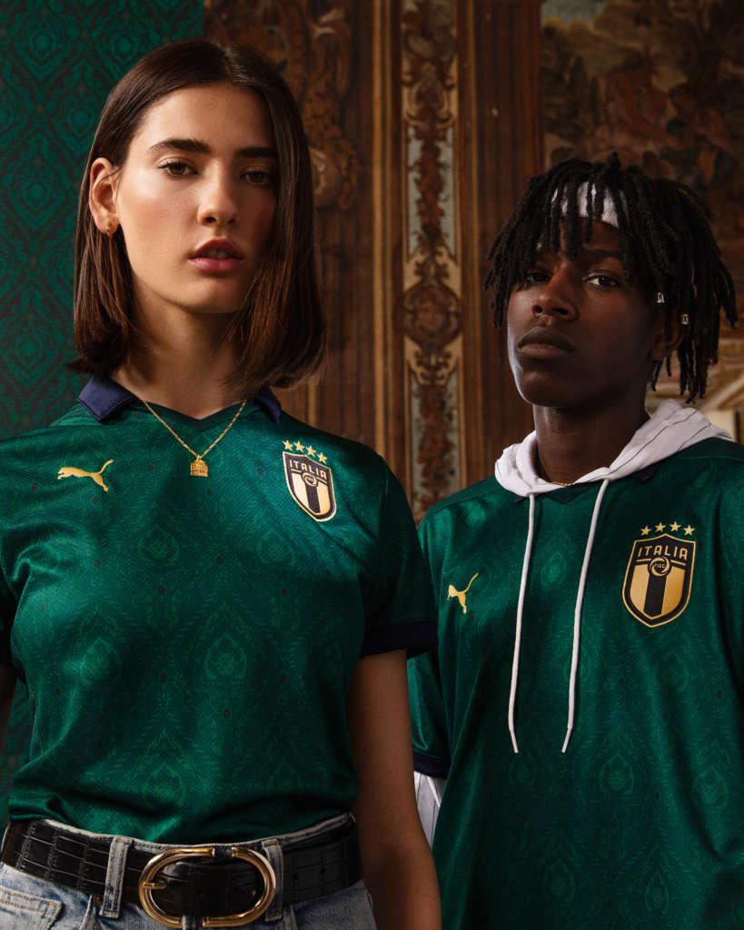 Новиот фудбалски дрес на Италија ќе биде зелен