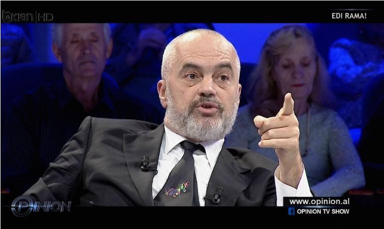 """Еди Рама на """"Топ Чанел"""" откри дека Бугарија ни ветила само 100 дози вакцини и дека ни тие не ни ги дала"""