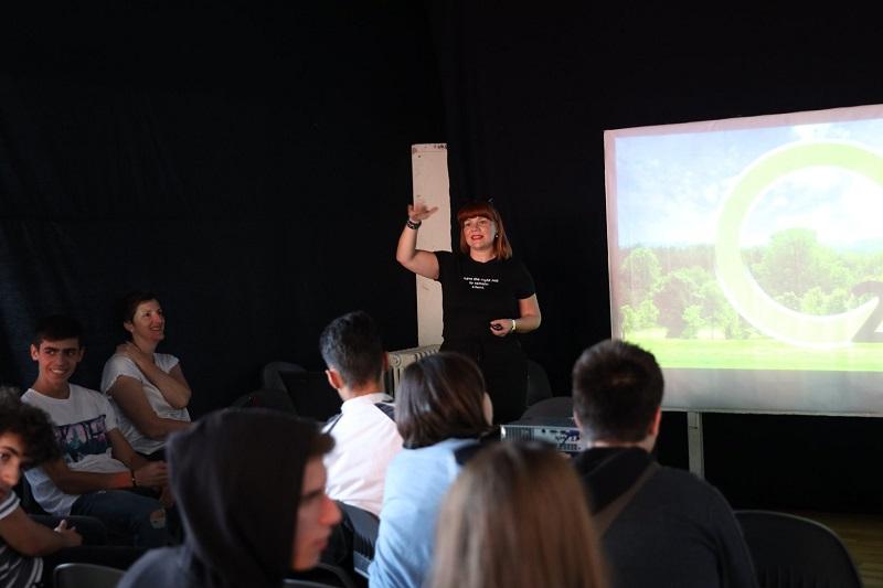 """""""О2 иницијатива"""" со порака до џифонци: Бидете гласни против загадувањето"""