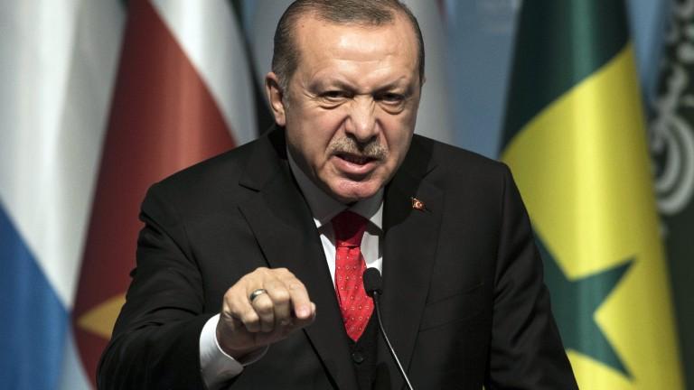 Ердоган: Секој што ќе ја нападне Турција или нејзините права ќе плати висока цена