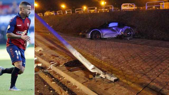Шпански фудбалер доживеа сообраќајна несреќа