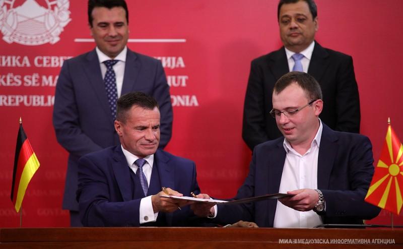 """Германски """"Герешајмер"""" ќе ги удри темелите на првата фабрика во Бунарџик"""