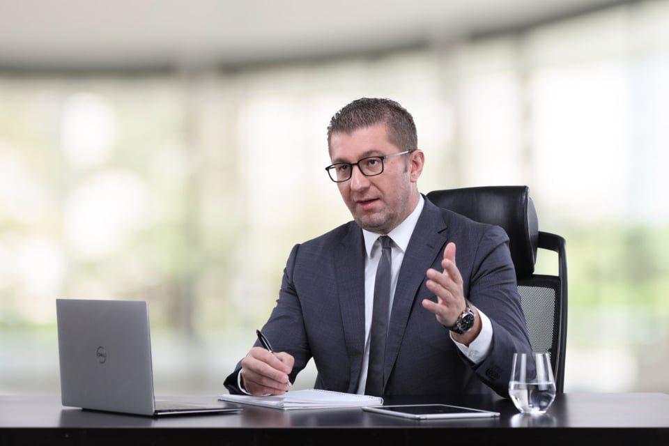 Мицкоски: Граѓаните знаат дека Заев е виновен, а одговорот на граѓаните стига на 12 април