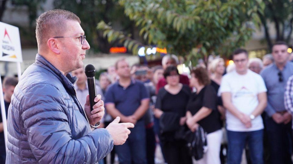 Мицкоски: Сите што мислат дека не можеме подобро се жртви на пропагандата на СДСМ и Зоран Заев
