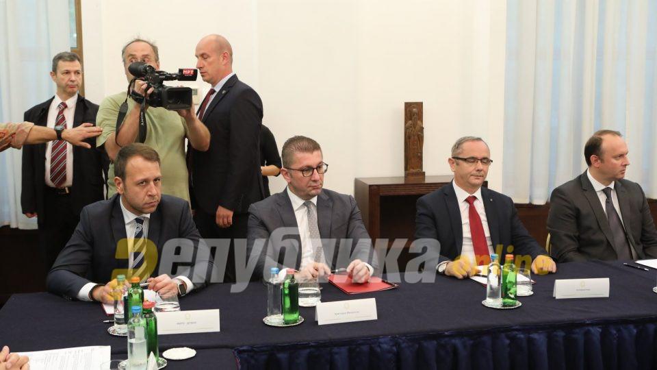 Мицкоски побарал, а политичките лидери се сложиле: Македонија да реагира на декларацијата на бугарската влада