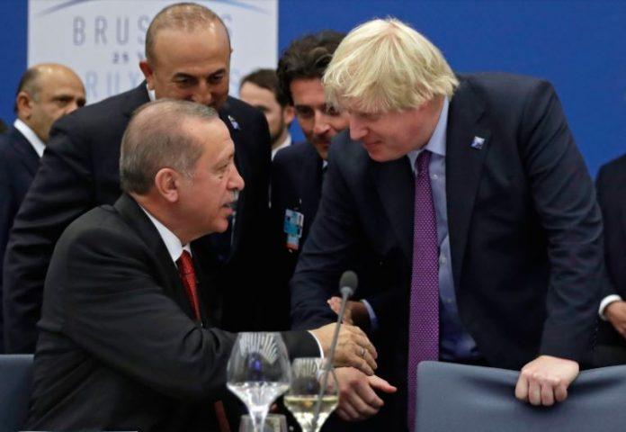 Џонсон и Ердоган разговараа за Сирија