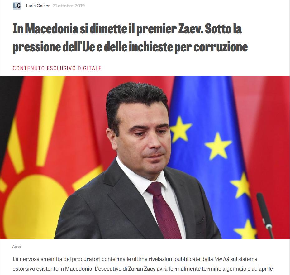 Ла верита: Никој не демантира дека Заев лично ѝ наредил на Рускоска да ги одблокира парите во корист на Боки 13