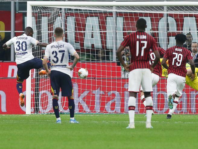 Милан во судиското продолжение испушти победа против Лече