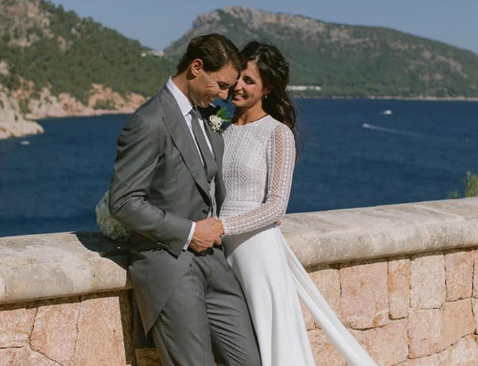 Први фотографии од венчавката на Марија и Рафаел Надал
