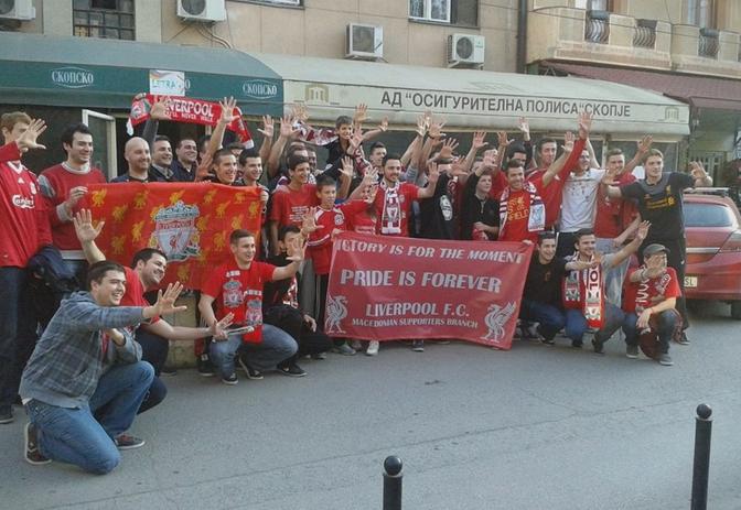 Навивачите на Ливерпул ќе навиваат во Скопје и ќе собираат средства за Јана