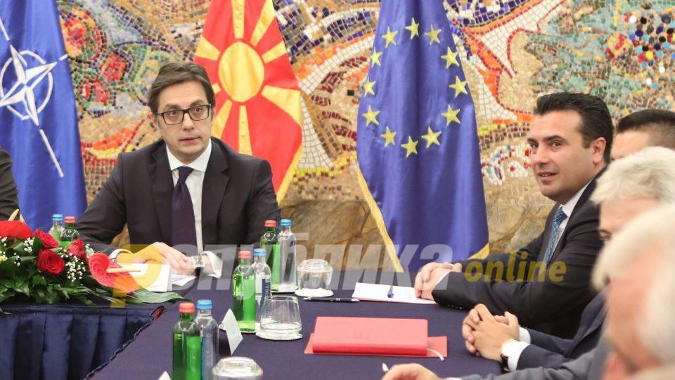 Пендаровски: Имаме државен консензус дека сакаме да одиме по европскиот пат
