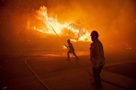 Три пожари во скопскиот регион