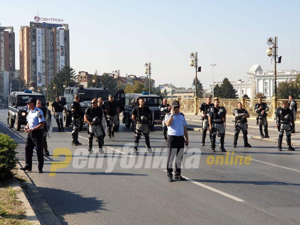 Полицијата утре на протест: КСС го поддржува протест на Синдикатот на полиција