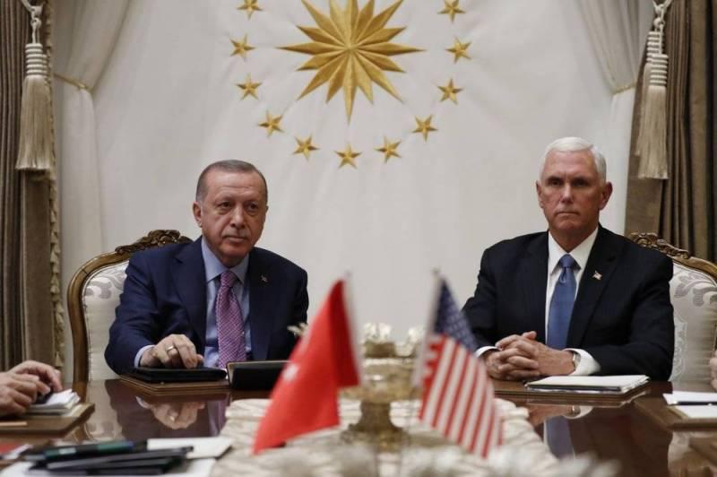 Eрдоган, сепак, го прими Пенс и се согласи на прекин на огнот