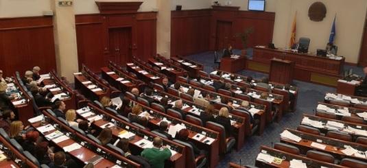 Законот за субвенционирање на придонесите на собраниска седница