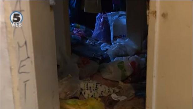 Стан натрупан со ѓубре и урина во Скопје, соседите очајно бараат помош