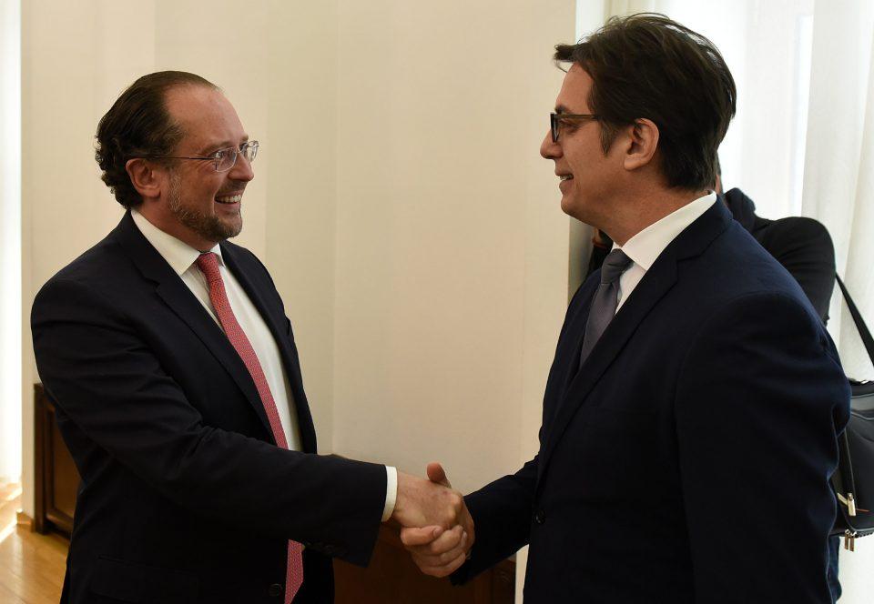 Пендаровски-Шаленберг: Принципиелна поддршка од Австрија за преговори со ЕУ
