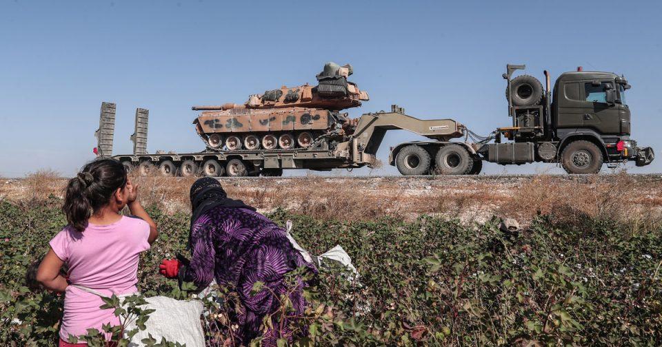 Над 300 илјади сиријци се раселија поради турската офанзива
