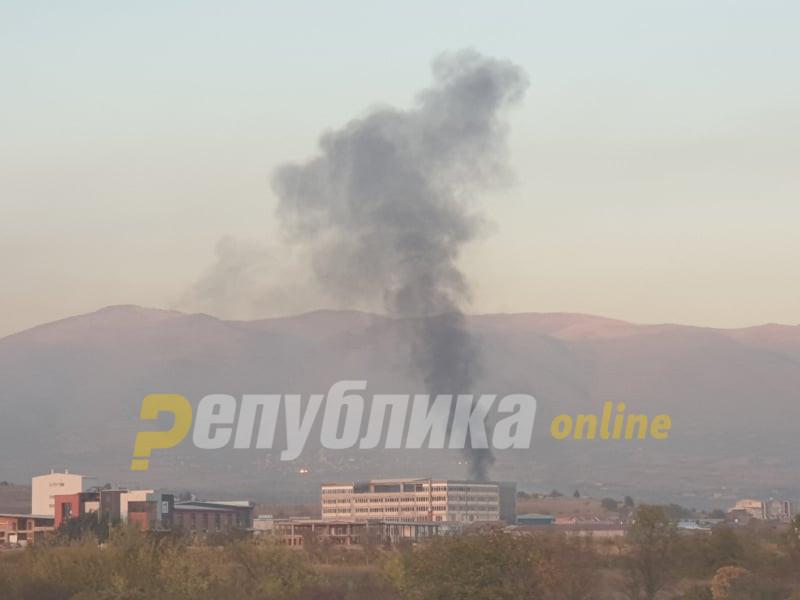 Скопје се гуши, црн чад во Визбегово, надлежните молчат!