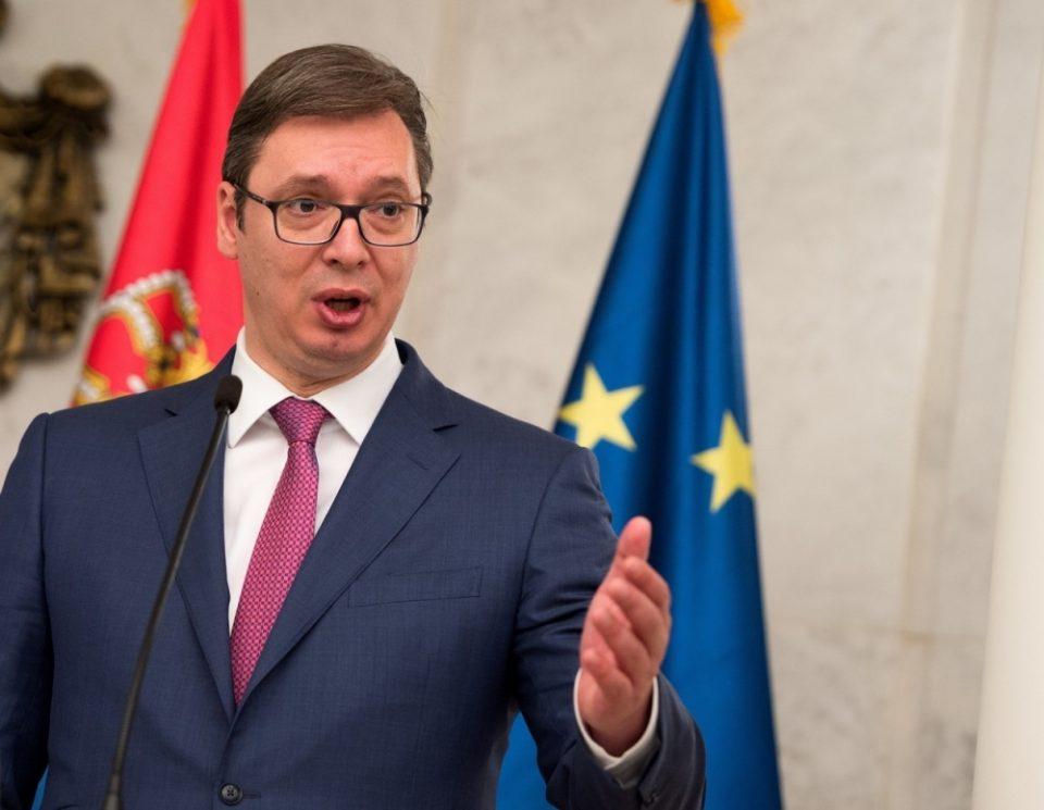 Вучиќ: И ние ли ќе добиеме исти гаранции од ЕУ како Македонија ако го решиме косовското прашање?