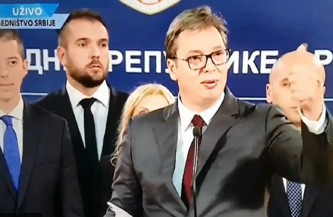Вучиќ прозборе албански, па праша косовски новинар: Дали го изговорив добро?