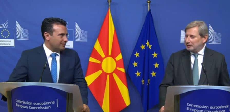 Алфа: Најави ли Хан дека Македонија ќе преговара 30 години?