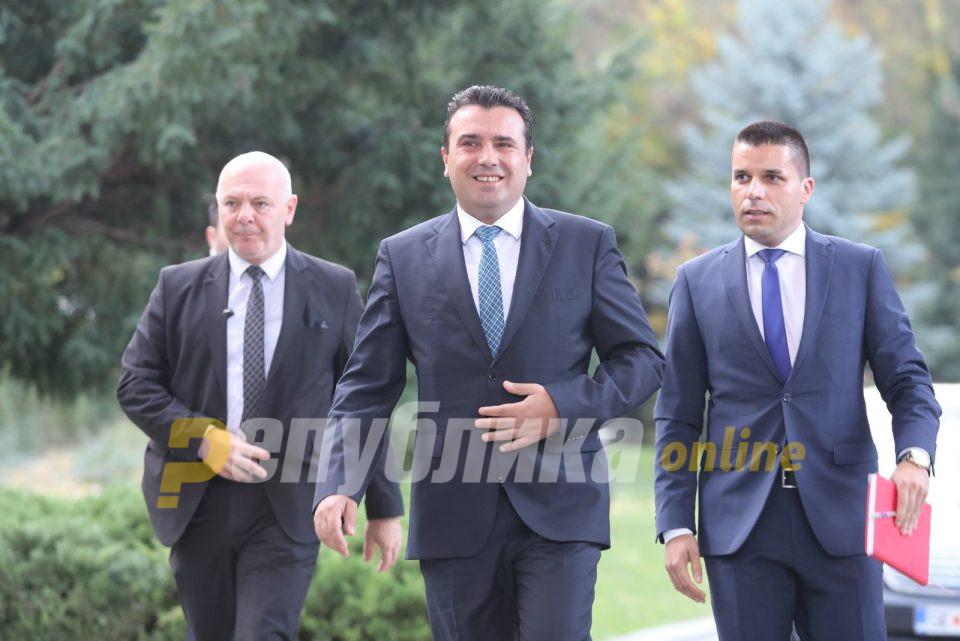 Мицкоски: Заев стана стечаен управник на Македонија со глaвни извршители Јанева и Рускоска