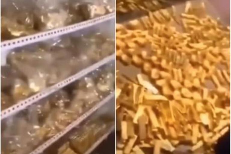 Во подрумот на политичар пронашле злато кое може дури и Грција да ја спаси од криза