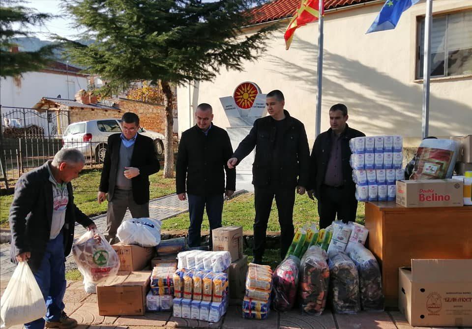 Македонската заедница во Пустец собира донации за настраданите од земјотресот