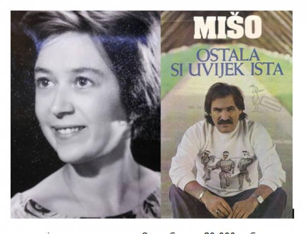 """Агица Гржетиќ е жената на која и е посветен безвременскиот хит """"Остала си увjек иста"""""""