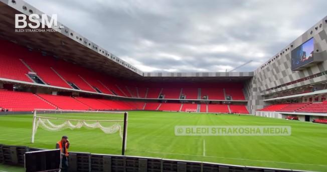 Албанија го има најубавиот стадион на Балканот