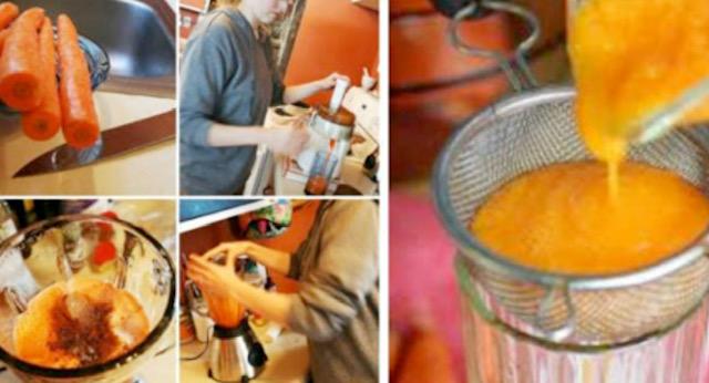 Домашен сируп од морков и мед за кашлица и полесно исфрлање на секретот