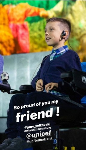 Горд сум на тебе: Погба го поздрави малиот Јане