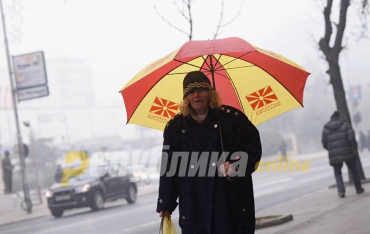 Вистински ден да се избега од Скопје: По котлините магла, низ земјата сонце