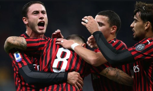 Милан конечно победи