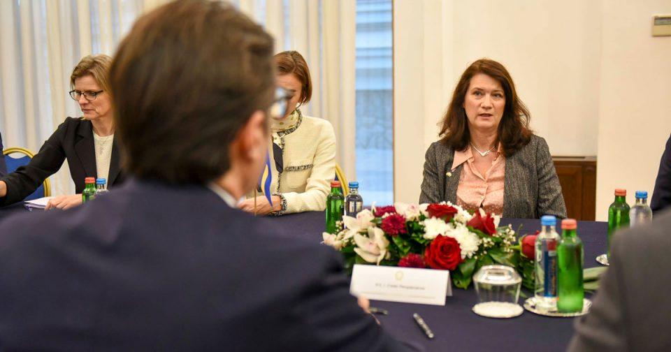 Пендаровски се сретна со Линде: За Македонија не постои друга прифатлива алтернатива освен полноправно членство во ЕУ