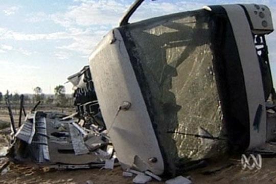 Се преврте бугарски камион со мигранти – 25 повредени