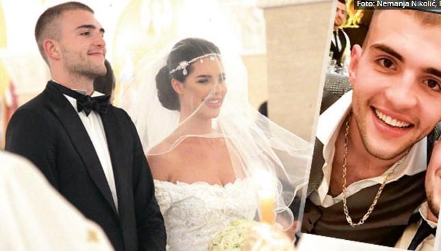 Сакаше да има нешто од таткото: Вељко на свадбата го носеше ланчето од Аркан