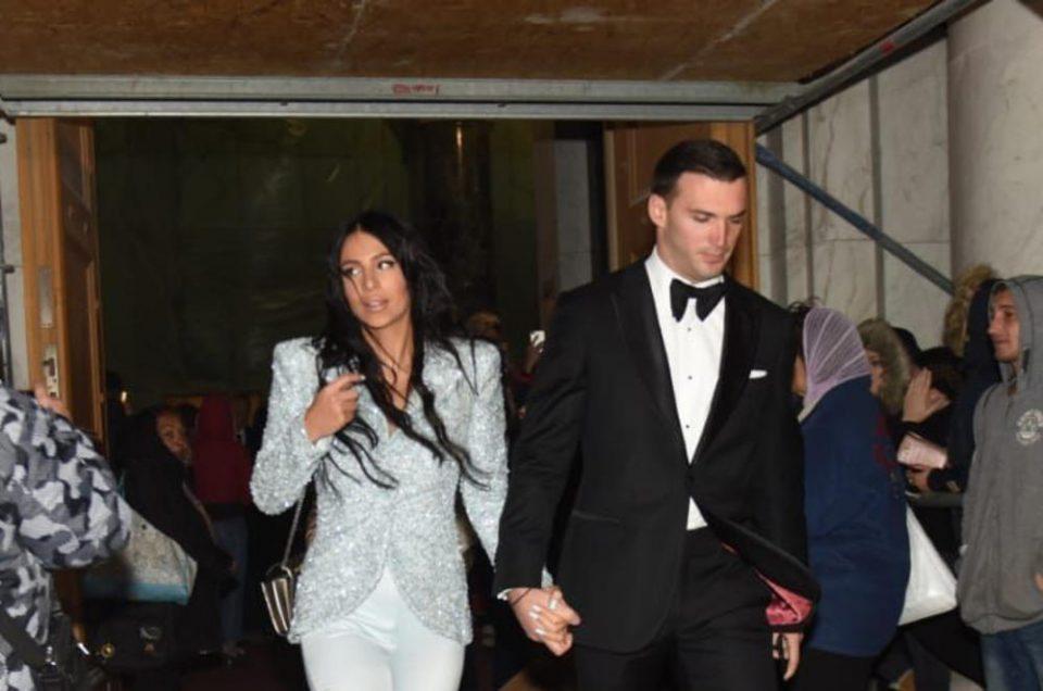 На свадбата на брат ѝ, Анастасија првпат го покажа Ѓорѓе