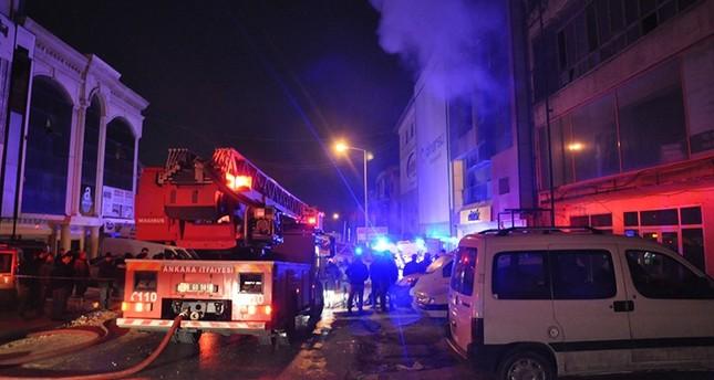 Пожар во Астрономскиот центар во Анкара