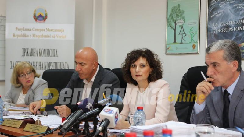 Антикорупциска бара закон за испитување на имотот на функционерите