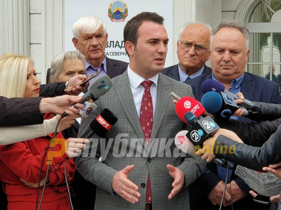 СОНК попушти пред власта: Наместо 25% покачување, остануваат 10-те понудени од Владата