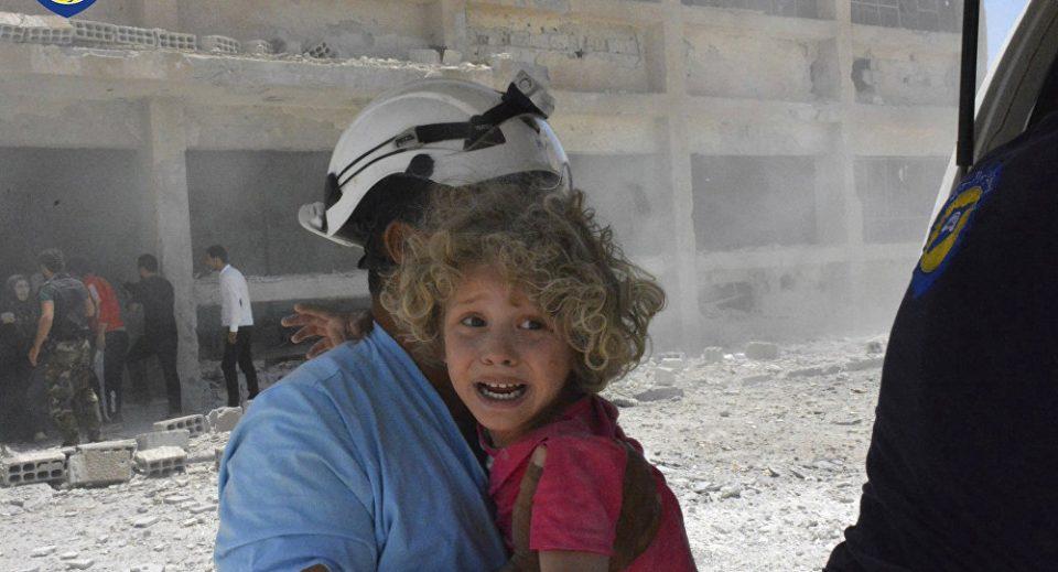 """Русија ги обвинува """"Белите шлемови"""" за тргување со човечки органи во Сирија"""