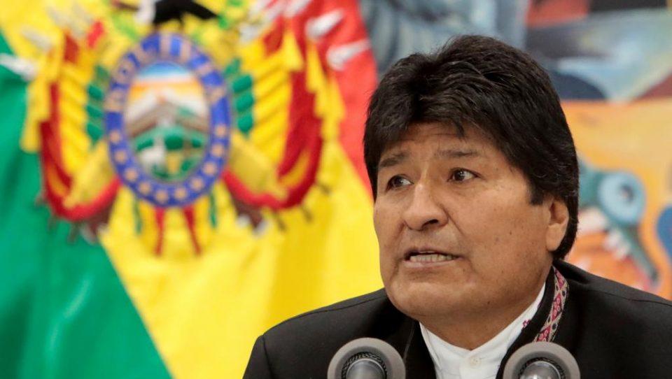 Моралес: Останувам во политиката, борбата продолжува