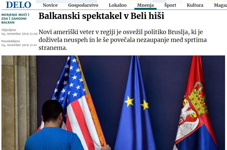 Балкански спектакл во Белата куќа
