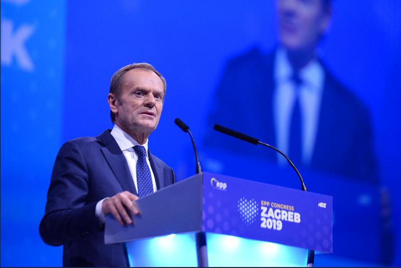 Доналд Туск најави повлекување од позицијата претседател на ЕПП