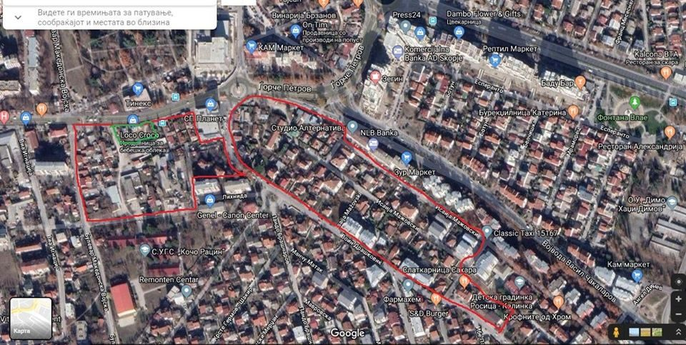 Во Ѓорче Петров 100 нови згради?